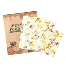 Load image into Gallery viewer, BEEfresh ECO Food Wrap Covers (3 pcs set) Bee Food Wrap