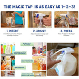 Beverage Dispenser Magic Tap Drink Dispenser