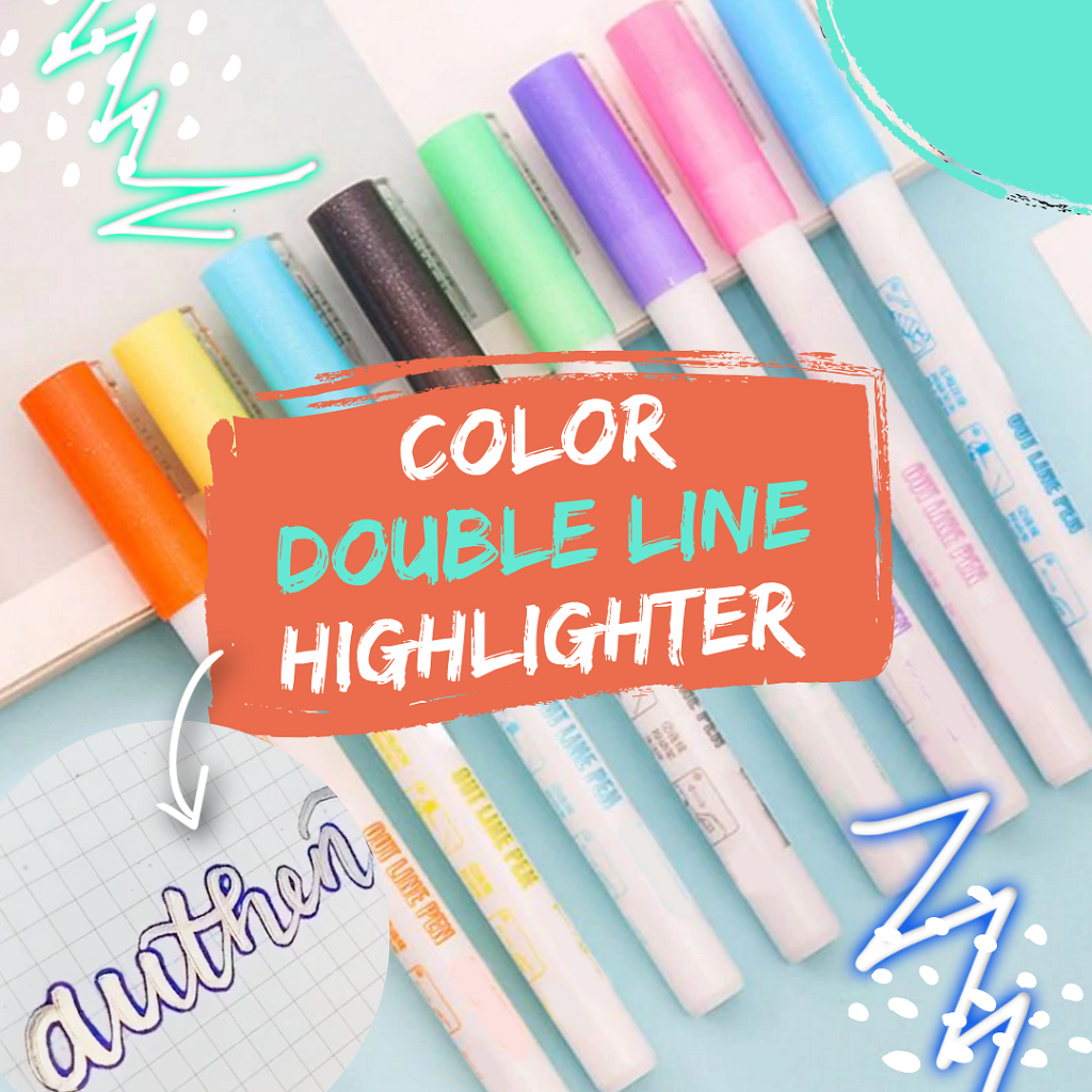 Bio Artist - Double Line Highlighter Highlighters