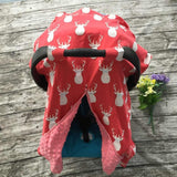 Blanket & Swaddling Red deer Cute Prints Baby Car Seat Cover