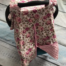 Load image into Gallery viewer, Blanket & Swaddling Rose Cute Prints Baby Car Seat Cover