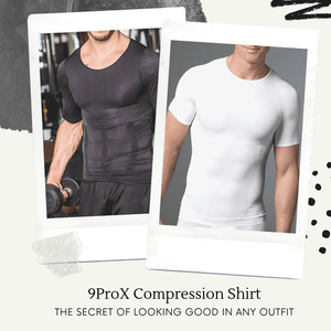 Body Shape - Compression T Shirt Black / M T-Shirts