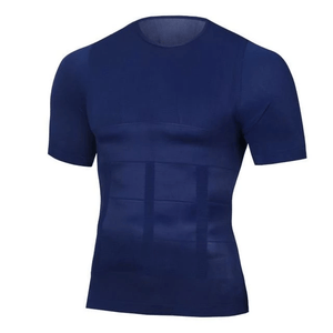 Body Shape - Compression T Shirt Blue / M T-Shirts