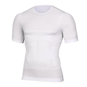 Body Shape - Compression T Shirt White / M T-Shirts