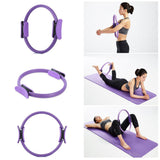Body Zen - Resistance Ring for Yoga and Pilates Purple Yoga Circles