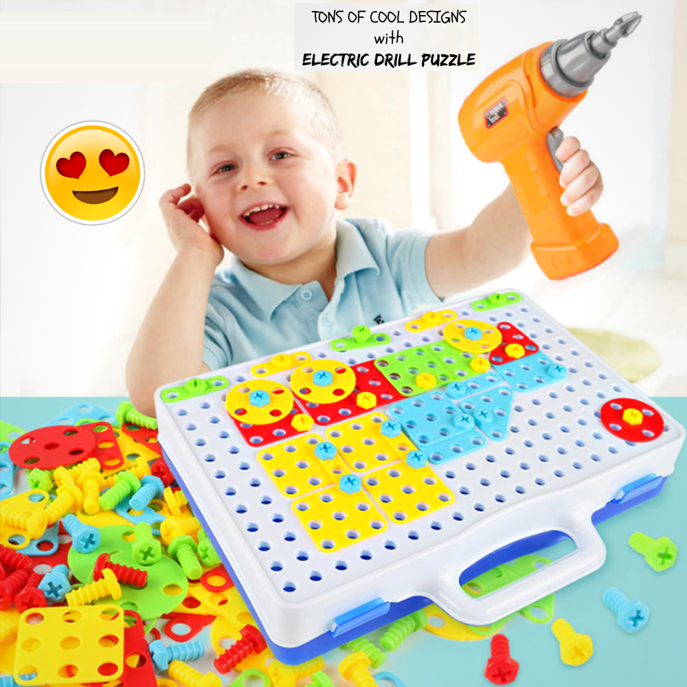 BuzzDrill Puzzle - Educational Toy Skill Toy