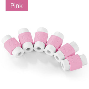 Cabaver - Cable Protector Pads (6 PCS) Pink Cable Protector