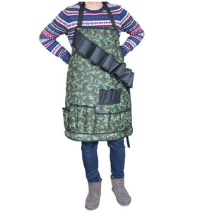Camouflage BBQ Apron Camouflage Green Cooking Apron