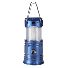 Load image into Gallery viewer, Camping Light Blue / US plug Portable Lanterns