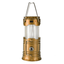Load image into Gallery viewer, Camping Light Gold / US plug Portable Lanterns