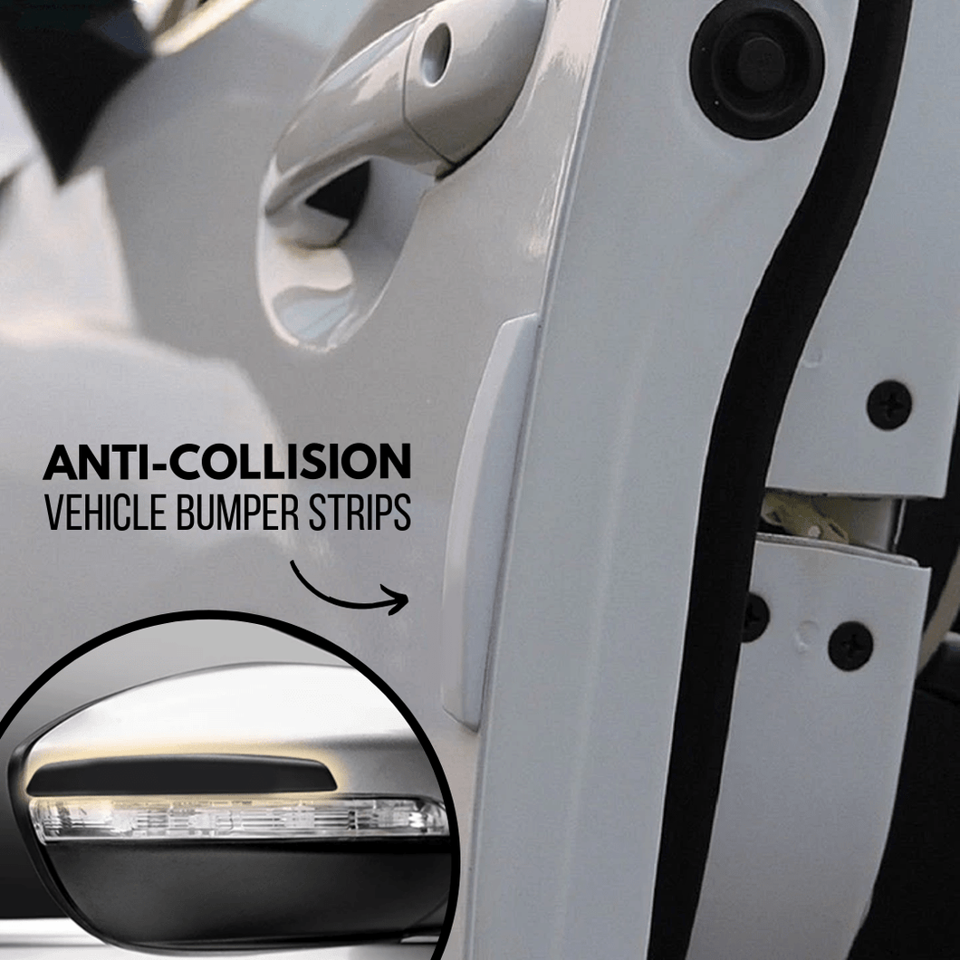 Car Protect - Anti-collision Strips (4 pcs set) White Car Accessory