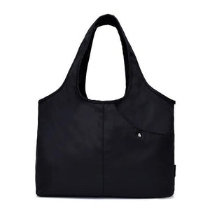 Carry-all Shoulder Bag Black Top-Handle Bags