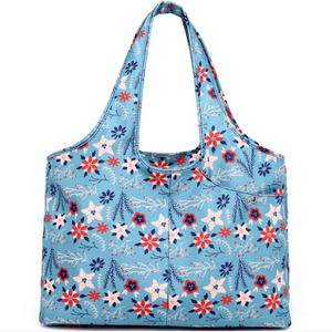 Carry-all Shoulder Bag Breezy Blue Top-Handle Bags
