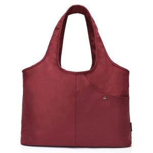 Carry-all Shoulder Bag Brown Top-Handle Bags