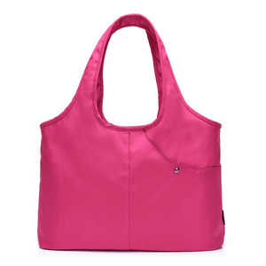 Carry-all Shoulder Bag Pink Top-Handle Bags
