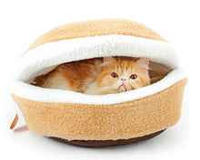 Load image into Gallery viewer, Cat Beds & Mats Button / S Cat Hamburger