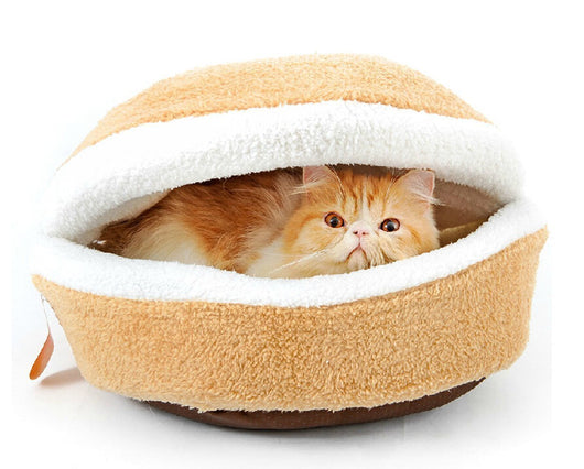 Cat Beds & Mats Button / S Cat Hamburger
