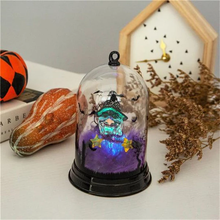 Load image into Gallery viewer, Classic 2019 Halloween LED Light Violet witchcraft Night Lights