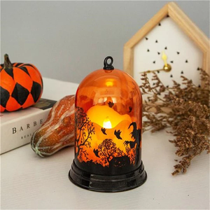 Classic 2019 Halloween LED Light Yellow witch Night Lights