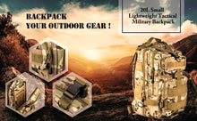 Load image into Gallery viewer, Climbing Bags Paratus™ - Military tactical backpack