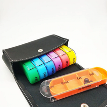 Load image into Gallery viewer, Colorful Pill - Weekly Medicine Organizer Pill Cases & Splitters