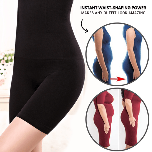 Comfortable Fit - High Waist Shaper Black / S Body Shaper