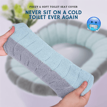 Load image into Gallery viewer, Comfy Seat - Fuzzy & Soft Toilet Seat Cover Toilet Seat Covers