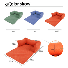 Load image into Gallery viewer, Comfy Sofa Bed Cover (Limited edition) Blue Sofa Cover