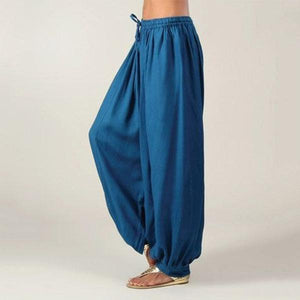 Comfy Walk - Harem Pants Blue / S Harem Pants