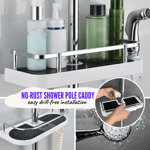 Convenient Shower Caddy Tray Shelf Tray