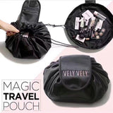 Cosmetic Bags & Cases Black Drawstring Cosmetic Bag