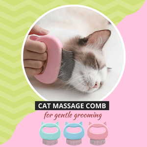 Cozy Pet - Massage Comb Pink Pet Comb