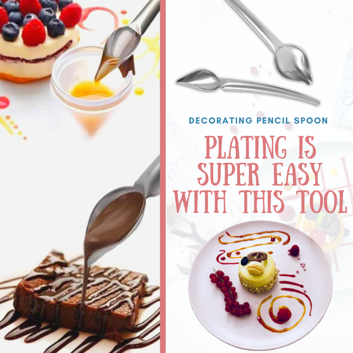 Creative Food - Decorating Pencil Spoon Decorating Spoon