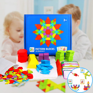 Creative Puzzle® Educational Building Toy Set (155 pcs set) Educational Puzzle
