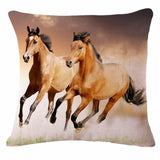 Cushion Cover design4 C The Beautiful Horse Pillow Cases