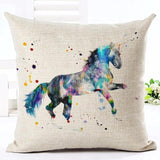 Cushion Cover design4 E The Beautiful Horse Pillow Cases
