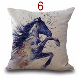 Cushion Cover design4 I The Beautiful Horse Pillow Cases
