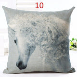 Cushion Cover design4 M The Beautiful Horse Pillow Cases