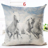 Cushion Cover design4 R The Beautiful Horse Pillow Cases