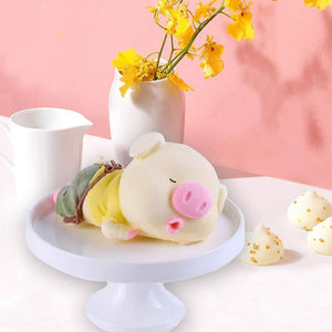 Cute & Fluffy 3D Animal Molds Pig Cake Molds