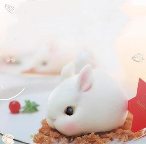 Cute & Fluffy 3D Animal Molds Rabbit small Cake Molds
