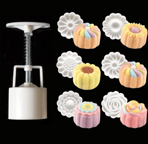 Cute Shaped Pastries - Cookie Presser Mold (7 pcs set) Baking & Pastry Tools