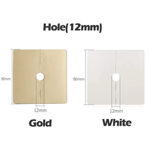 Detachable & Quick Fix Hole Cover Gold / Hole (12 mm) Hole Cover