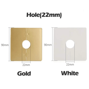Detachable & Quick Fix Hole Cover Gold / Hole (22 mm) Hole Cover