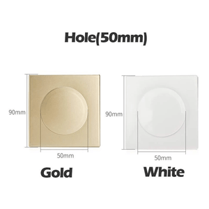 Detachable & Quick Fix Hole Cover Gold / Hole (50 mm) Hole Cover