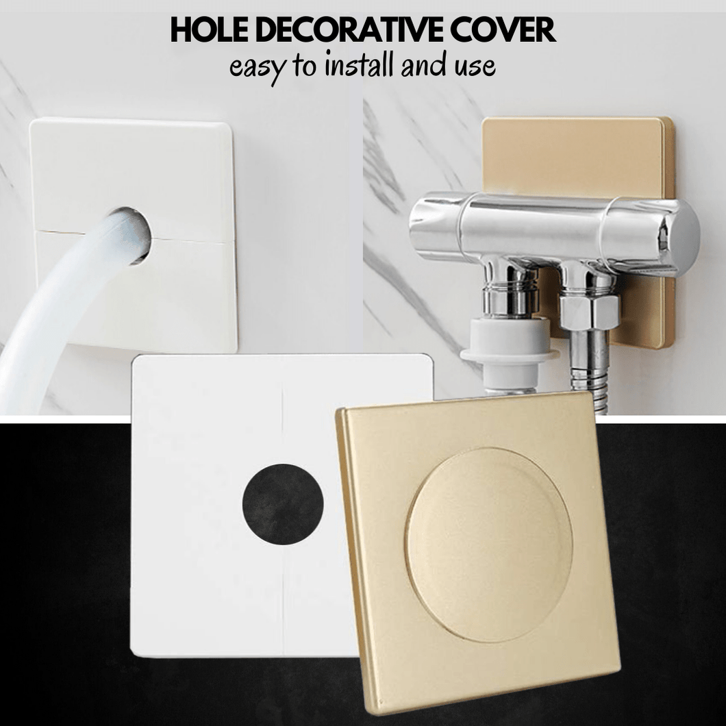 Detachable & Quick Fix Hole Cover White / Hole (12 mm) Hole Cover