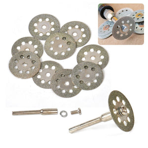 Diamond Cutting Saw Blades Set (10 PCS) S Saw Blades