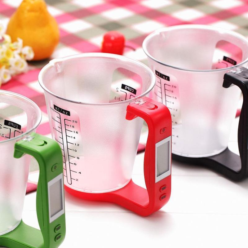 Digital Measuring Cup Scale Red Measuring Cups