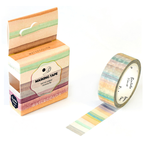DIY-Craft Washi Tapes Stripes Office Adhesive Tape