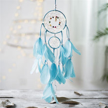 Load image into Gallery viewer, Dream Come True - LED Light Dream Catcher Blue Dream catcher Light
